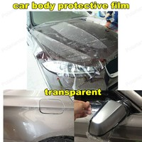 Transparent Strong Glue 152CM*20CM Car Door Handle Protection Film Exterior Automotive Accessories Easy Install