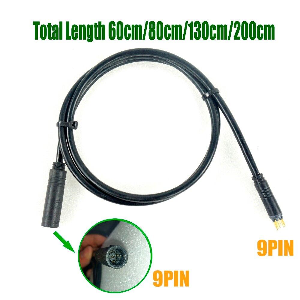 JULET Wasserdichte Motor Verlängerung Kabel 1,2 1,5 Platz 250W 350W 600mm 1250mm 1600mm 1750mm 2000mm für Hub Motor Conversion Kit