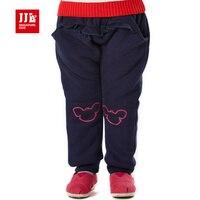 2015 סגנון חדש תינוק בגדי ילדה תינוק עיצוב סלסולים אופנה מכנסיים חורף חמים בטנת מכנסיים מקרית מותג איכות משלוח חינם