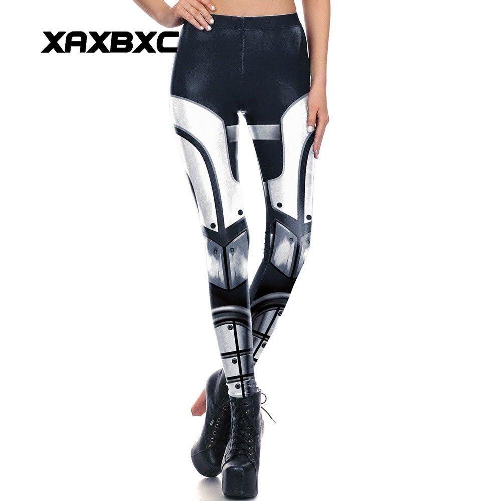 1665 Sexy Girl Leggins Star Wars Mecha Darth Vader Printed Polyester Elastic Slim Fit Fitness Women Leggings Pants Trousers