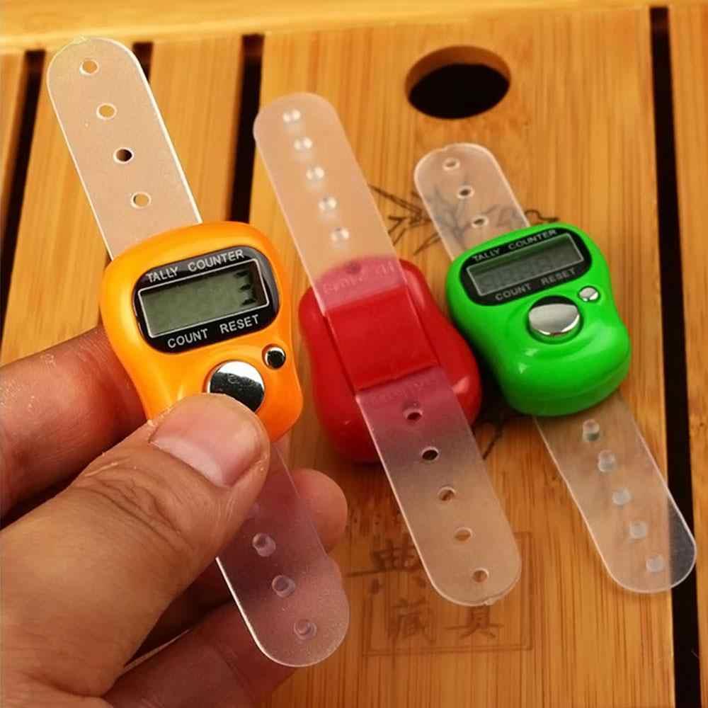 عداد رقمي جهاز يد عصابة أدوات LCD الإلكترونية الاصبع جولف رصيده التهديف جهاز مصغرة جيب دقيقة الذكية أرقام الدعامة