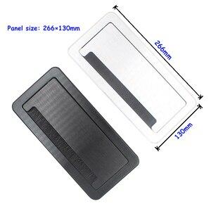 Image 2 - JOHO מברשת פתוח סוג שולחן שקע אלומיניום סגסוגת האיחוד האירופי תקע רב פונקצית USB HDMI VGA ממשק BS 102