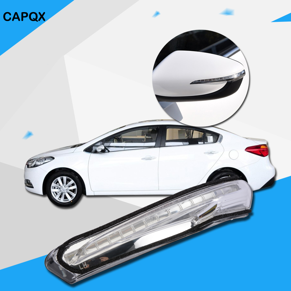 Power Mirror For 2014-16 Kia Cadenza Right Power Fold Paintable with Puddle Lamp
