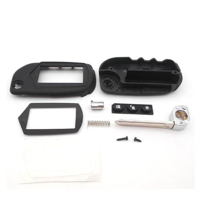 A91 Key Case Keychain for Starline A91 A61 B9 B6 uncut blade fob case cover A91 folding car flip Remote Control