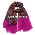 Ladies Long Silk Scarves Sexy Leopard Wrap Scarf Luxury Brand For Women Fashion Fulares Mujer Echarpes Foulards Femme 180x100cm