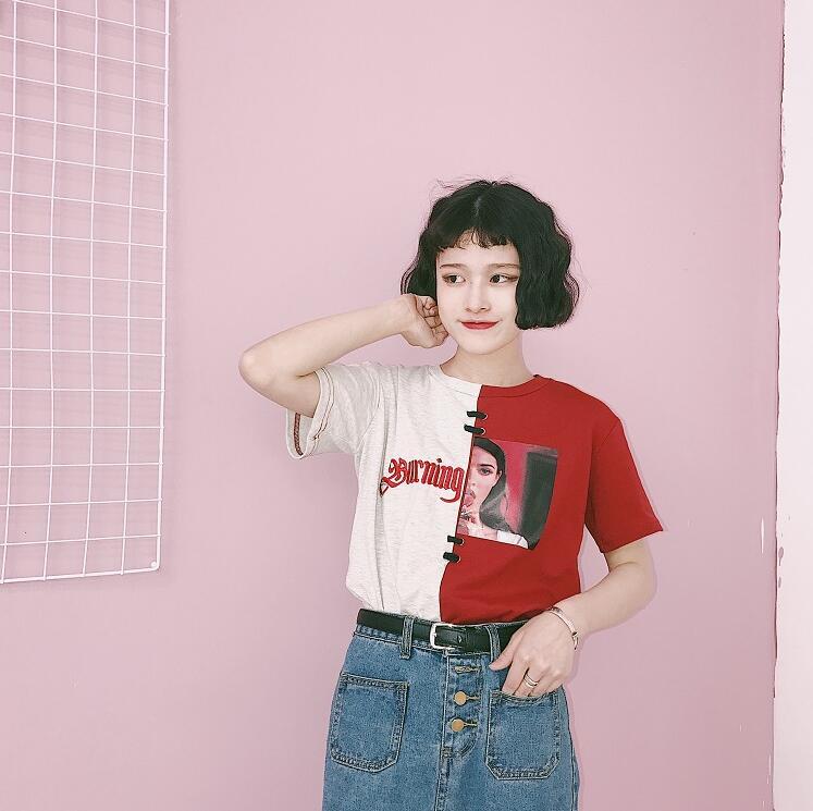 HTB1E1tfQVXXXXajXVXXq6xXFXXX9 - Red/Black Burning Passion T shirt PTC 121