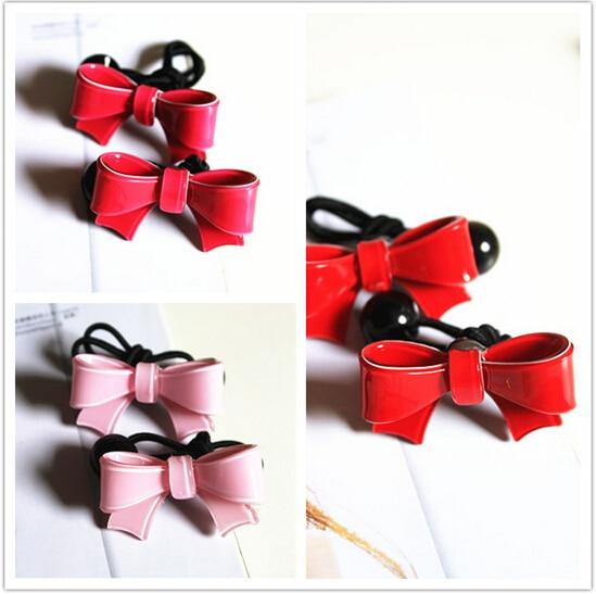 Νέα εργαλεία styling Άφιξη Cute Bow ελαστικές ζώνες μαλλιών φουρκέτα αξεσουάρ για τα μαλλιά για τις γυναίκες κορίτσια κορίτσι να σας κάνει τη μόδα