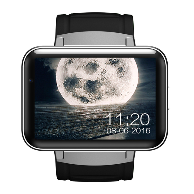 DM98 Smart Watch Фитнес-Трекер Браслет Смотреть Андроид Система 5.1 GPS WI-FI Смарт-Телефон Вахты Для iPhone 7 Мобильных Телефонов пк x01
