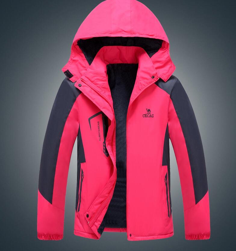 2017 Winter Snowboard Jacke Frauen Windjacke Oberbekleidung Wasserdichte Mantel Warme Mantel Um Der Bequemlichkeit Des Volkes Zu Entsprechen