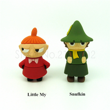 cartoon Moomin Valley USB Flash Drive cute Little My&Snufkin Pen drive 4gb 8gb 16gb 32gb Gift muumi pendrive usb 2.0 creativo