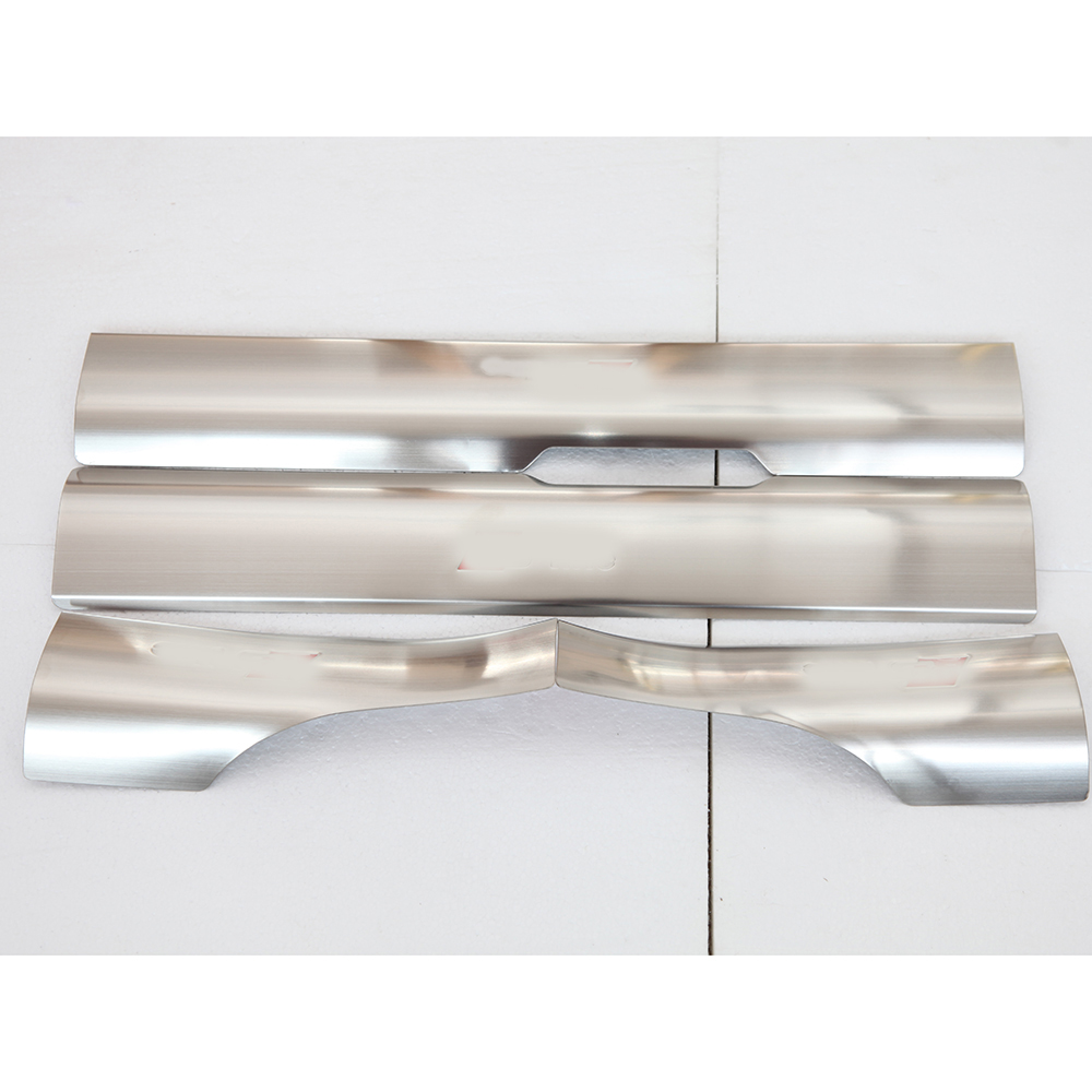 ФОТО Car inner door sill plate S line welcome pedal threshold strip sill guard scuff plate stainless steel sticker for 10-15  Audi Q5