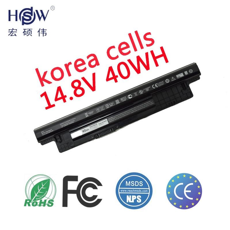 HSW batterie 14.8 v 40WH Pour DELL Pour INSPIRON 17R 5721,17 3721, 15R 5521,15 3521, 14R 5421,14 3421 VOSTRO 2521 2421