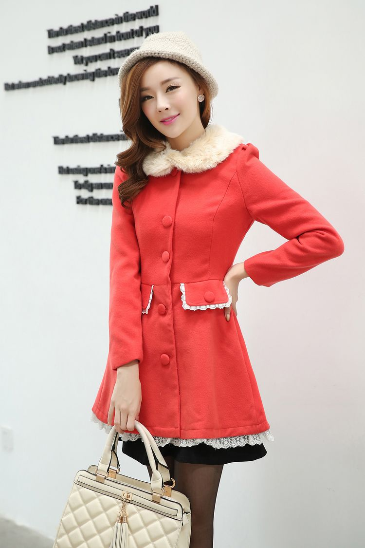 Cute Red Coat Promotion-Shop for Promotional Cute Red Coat on ...