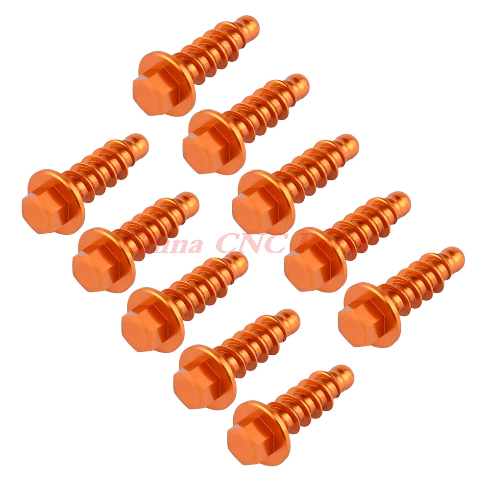Tapping Screw Bolt Kits For KTM 125 200 250 300 350 400 450 500 530 660 690 1190 1290 SX EXC XC SXF SMR XCW Husqvarna Husaberg in Covers Ornamental Mouldings from Automobiles Motorcycles