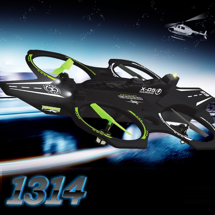 все цены на outdoor toys large RC drone aircraft UFO 1314 2.4G 4CH 6-Axis RC Quadcopter with Light EPP Foam rc plane RC toy kid gift vs Q202