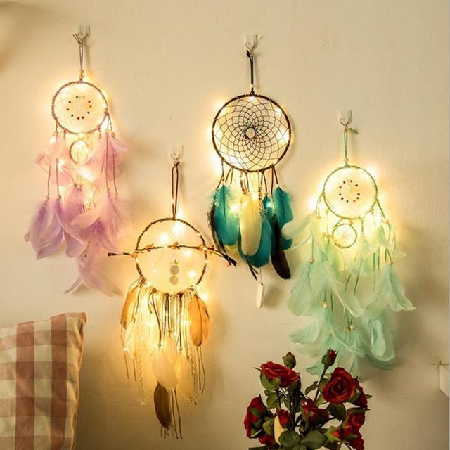 Led Light Romantic Dreamcatcher