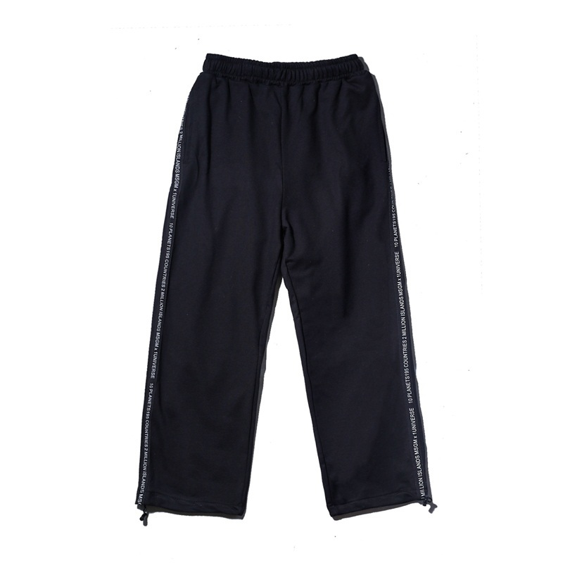 Summer Thin Feet Pants Nine Part The new listing Favourite Fashion Free shipping casual wild black and white