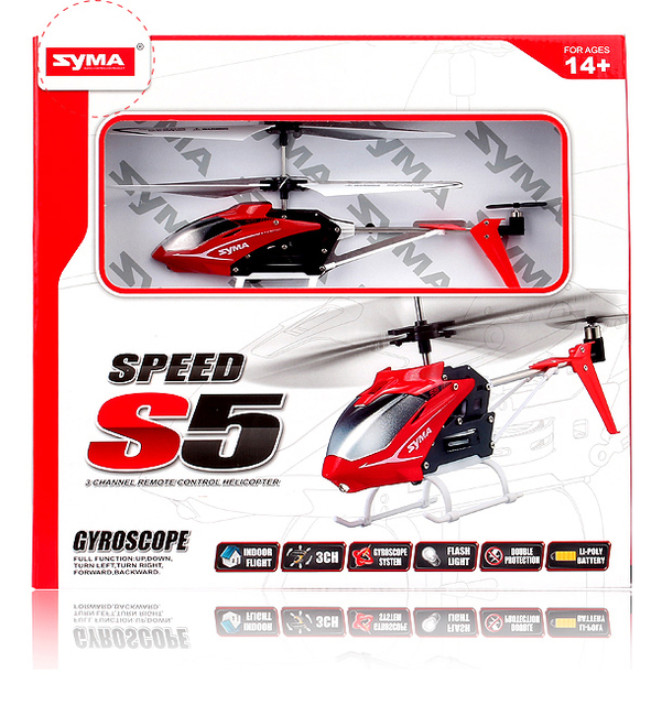 US $22 71 |New Syma S5 N 3ch Speed Mini Infrared Remote Control RC  Helicopter Drone with Gyro RTF-in RC Helicopters from Toys & Hobbies on