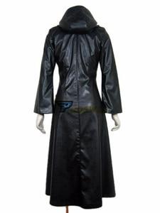 Image 4 - Kingdom Hearts 2 Organizasyon XIII Siyah Ceket Robe Cosplay Kostüm Custom Made