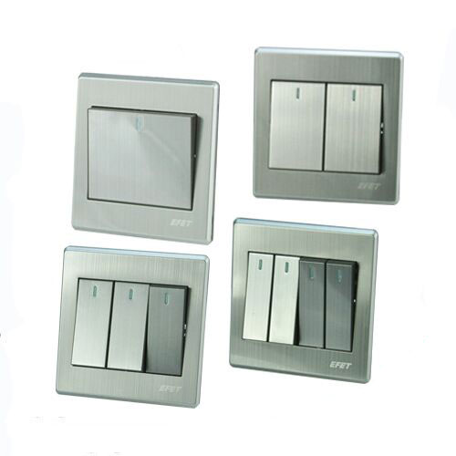 Rocker Light Switch >> Us 1 53 Luxury Wall Switch Panel Light Switch Gang Switch 2 Way Push Button Rocker Switch 16a 110 250v 220v In Switches From Lights Lighting On