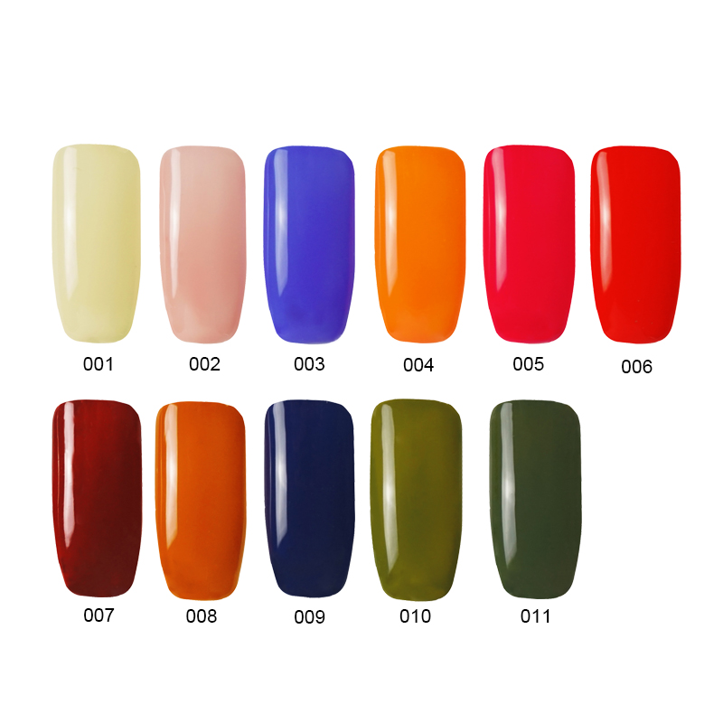 Ms Queen Winter Fall 2018 Color 10ml Hot Gel Nail Polish Led Uv Soak Off Lacquer Manicure In From Beauty Health On