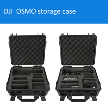 DJI Dajiang OSMO storage case portable suitcase protective box Especially custom for OSMO waterproof with foam lining tool case