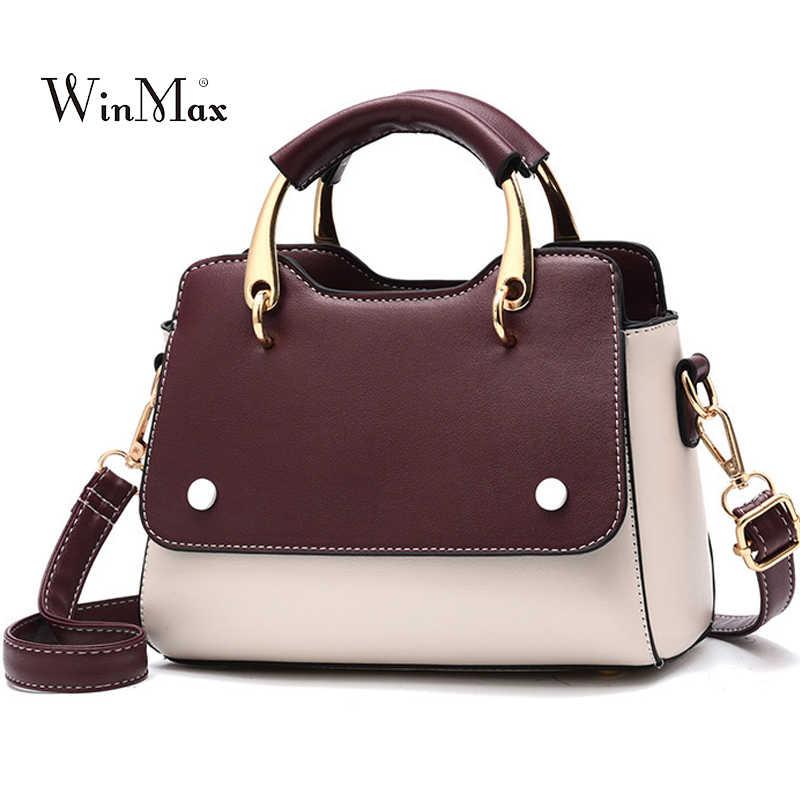 44cb75973841 Панелями сумочка Роскошные Для женщин кожаные сумки Сумка дамы небольшой  сумки Посланник Сумки для Для женщин