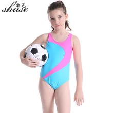 Children's Swimsuits One Piece Sports Swimwear Girl training Suits for Kids Sport Bathing Pieces Swimming