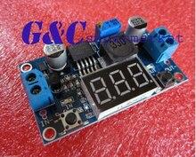 1 PCS DC-DC Buck Step Down Módulo LM2596 Regulador de Tensão Voltímetro + Led