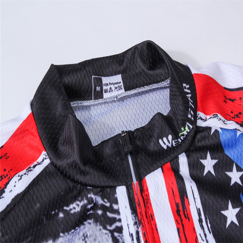 65a9e4166 Weimostar 2017 Breathable USA Cycling Jersey Men Summer Racing Sport  Cycling Clothing Short Sleeve mtb Bicycle Bike ...