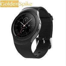 GOLDENSPIKE AS2 Bluetooth חכם שעון S2 Smartwatch שעון עבור apple iPhone סמסונג עבור אנדרואיד huawei xiaomi lenovo pk ציוד S2(China)