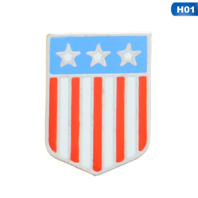 US $0 58 10% OFF|National Flags Enamel Pin Canadian American German Italian  Flag Brooch Pin Button Hat Bag Clothes Collar Pin Badge Jewelry Gift-in