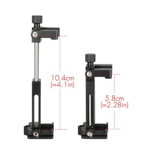 Image 3 - Ulanzi ST 03 Foldable Metal Mobile Phone Tripod Holder Mount Clamp for iPhone7 Samsung Xiaomi Smartphones