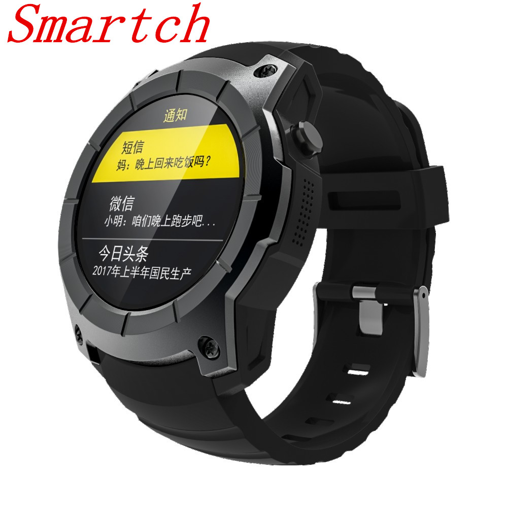 Smartch S958 GPS Outdoor Sports Professinal Bluetooth Smart Watch IP66 Life Waterproof With Heart Rate Monitor Pressure For Andr garmin fenix 5s sapphire 42mm sports gps heart rate watch with compass