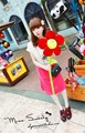 Girassol bonito flores muticolour brinquedo lovely plush flores 5 peças/lote cerca de 85 cm