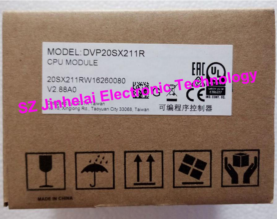 New and original DVP20SX211R, DVP20SX211S DATEL Plc controller, 20 point main engine,8DI/6DO new and original dvp24es200r dvp24es200t datel plc controller 16di 8do