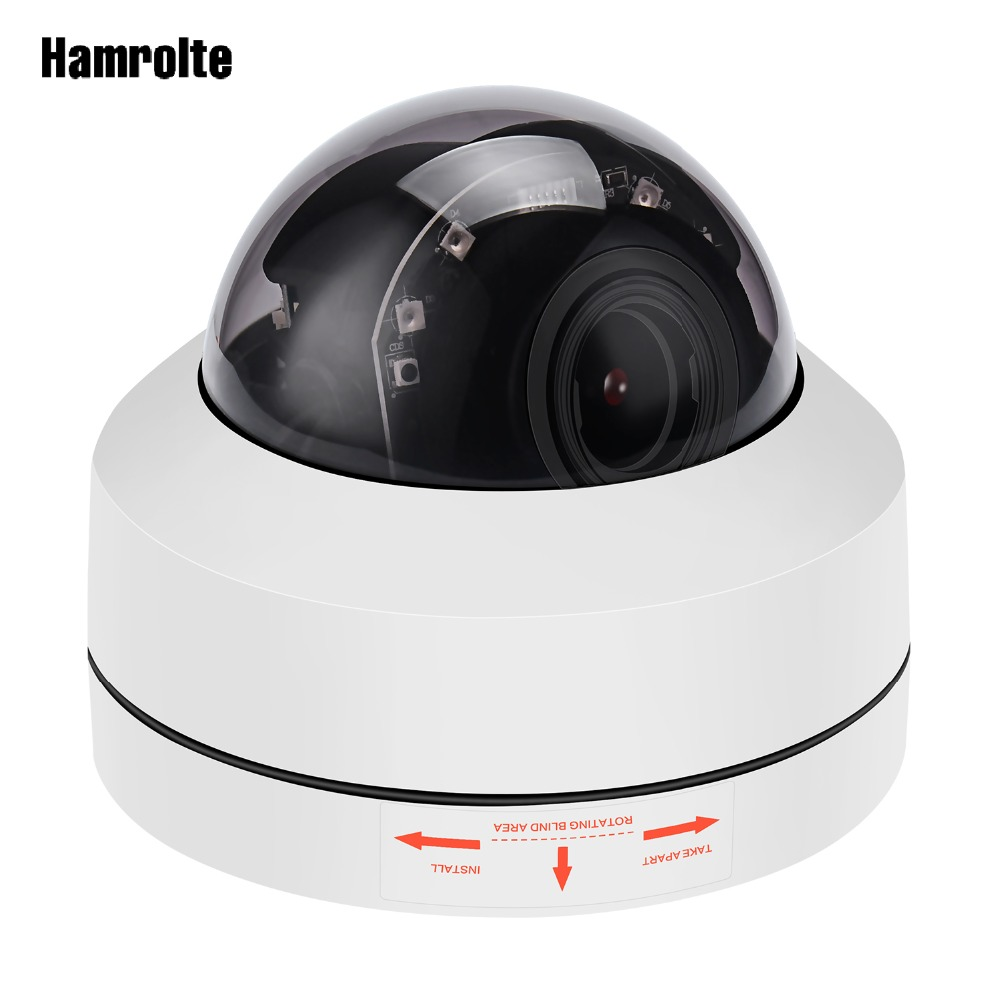 Hamrolte Speed Dome Camera Onvif PTZ IP Camera 5MP/2MP 4xZoom Auto Focus (2.8-12mm)  Waterproof  Outdoor Camera  H.265 Hisee P2PHamrolte Speed Dome Camera Onvif PTZ IP Camera 5MP/2MP 4xZoom Auto Focus (2.8-12mm)  Waterproof  Outdoor Camera  H.265 Hisee P2P