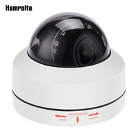 Hamrolte Speed Dome Camera Onvif PTZ IP Camera 5MP/2MP 4xZoom Auto Focus (2.8 12mm) Waterproof Outdoor Camera H.265 Hisee P2P