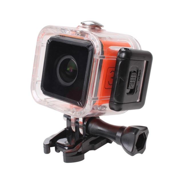 RunCam Su Geçirmez Kılıf Kapak Montaj Yedek Parça için RunCam 3/gppro oturumu Kamera FPV rc dört pervaneli helikopter Drones