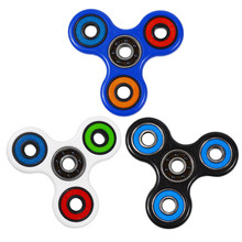 Multi Color Triangle Gyro Finger Spinner Fidget EDC spinner Hand For Autism/ADHD Anxiety Stress Relief Focus for child Toys Gift
