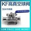 GU KF25 High Vacuum Ball Valve