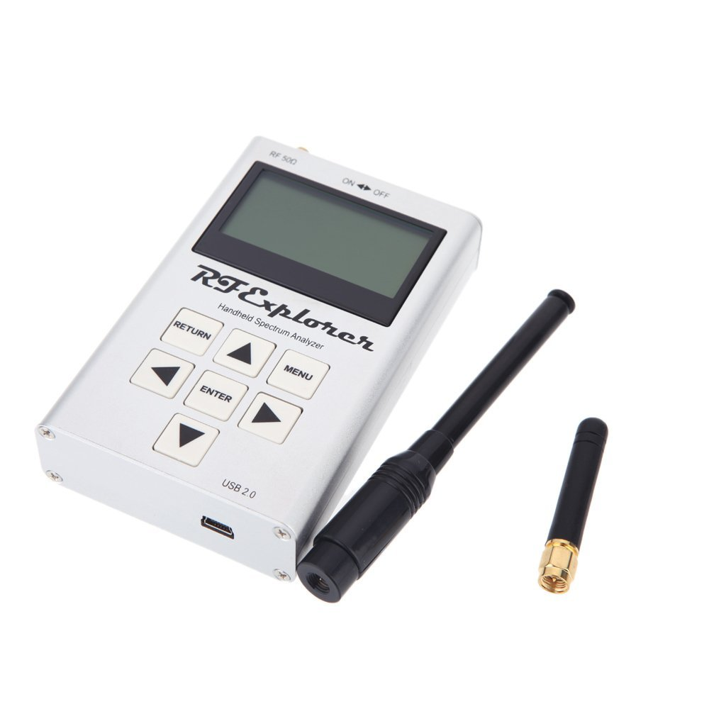 MYLB RF Explorer-3G Combo 15-2700 MHz Handheld Digital Spectrum Analyzer Display LCD 15-2700 MHz e 112 KHz 600-113 MHz * 70*25mm