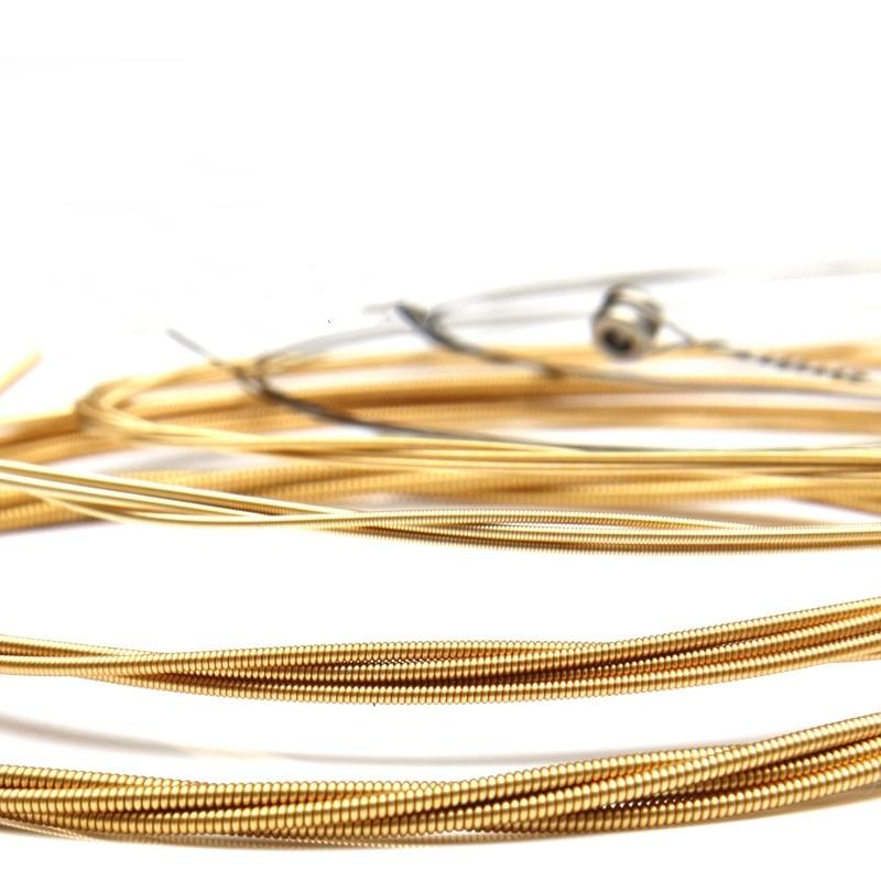 Acoustic Guitar Strings set 010 012 Steel Phosphor Bronze Strings Acoustic Wound Guitar Strings Strings A60XL 010-048 6pcs/set недорого