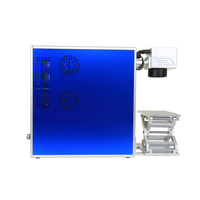 Portable supported by air metal marker carbon steel laser engraver machine