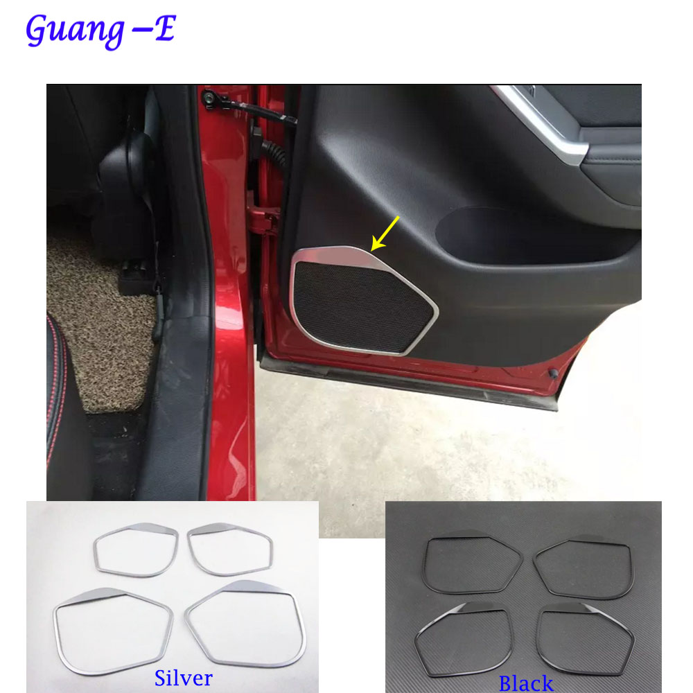Dla Mazda CX-5 CX5 2013 2014 2015 2016 drzwi samochodu Styl detektor - Akcesoria do wnętrza samochodu - Zdjęcie 1