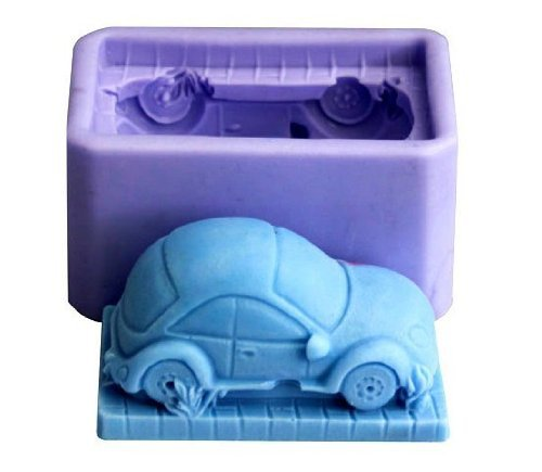 Stereo 3D Truck Car Shape Silicone Soap DIY Mould Handmade Candle Mold Craft Art Chocolate Soap Making Mold Wholesale