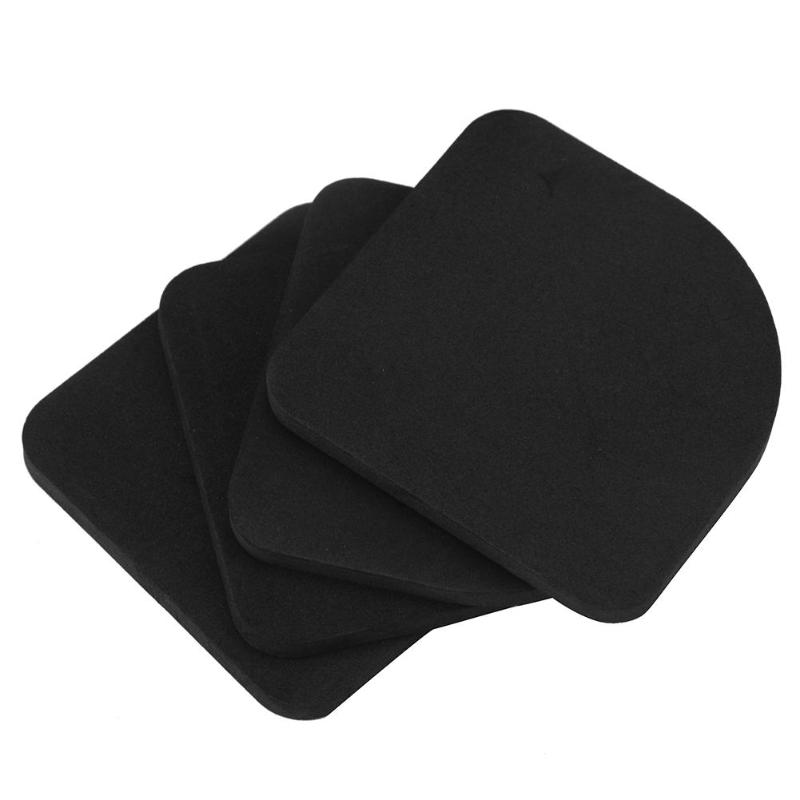 4pcs Square Refrigerator Mute Shock Mat Washing Machine Anti Vibration Pad