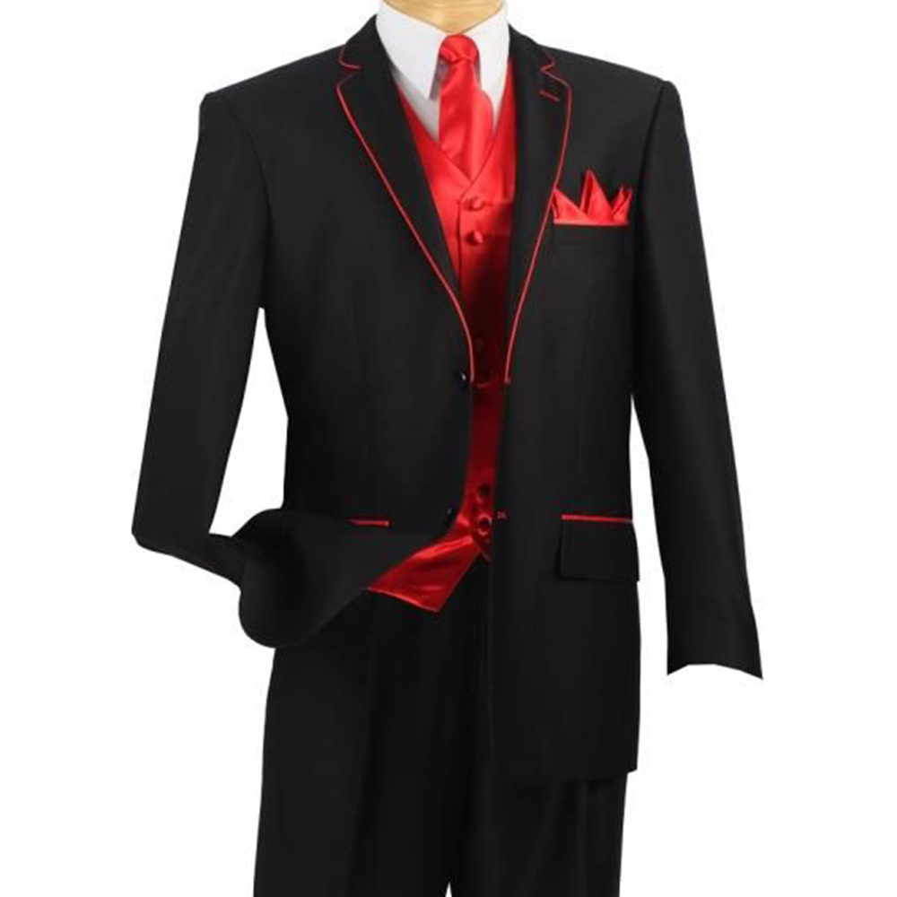 Custom Made To Measure Black Mens Suits Bespoke Red Black Tuxedo With Red Vest Tailored Wedding Tuxedo Black With Red Waistcoat Suit Baby Tuxedo Babiestuxedo Dinner Suits Aliexpress