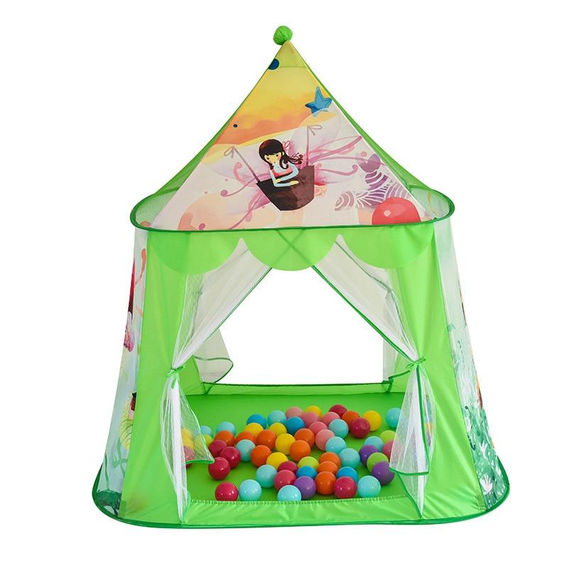 ФОТО Children Cartoon Printing Net Yarb Game House Play Tent Children's Lodge Teepee Tent For Kids