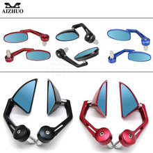 Motorcycle 22MM  Rear View Mirrors Handle Bar End Mirror FOR DUCATI MONSTER 797/M797 HYPERMOTARD 821 939 950 MULTISTRADA for ducati crose monster multistrada mts streetfighter hypermotard motorcycle wheel sticker decal reflective rim bike suitable